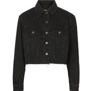 NWT🌟 VERO MODA VMKatrina Cropped Denim Jacket